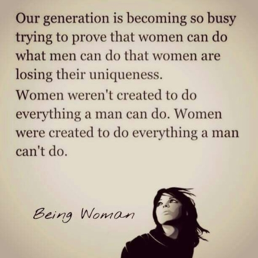 women are unique