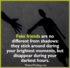 friends fake