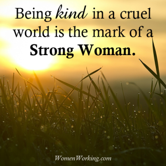 strong woman kind