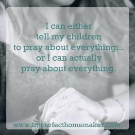 mom pray